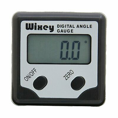 £25.80 • Buy Digital Angle Gauge Protractor Inclinometer Gage Accurate Measuring Wixey WR300