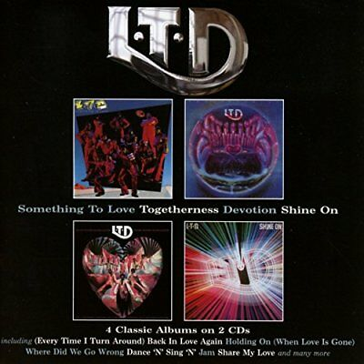 £11.23 • Buy L.T.D. - Something To Love / Togetherness / Devotion / Shine On [CD]
