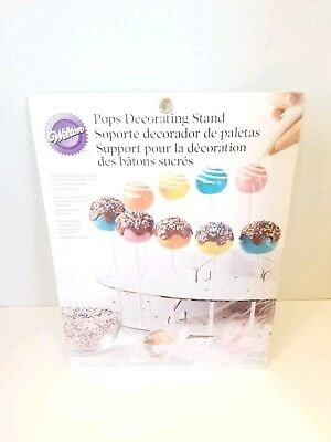 £10.65 • Buy Wilton's Cake Pops Decorating Stand 12  Diameter Holds Up To 44 Pops New