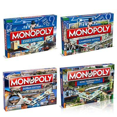 £29.99 • Buy Monopoly City Editions – Find Your City Of The Classic Family Board Game!