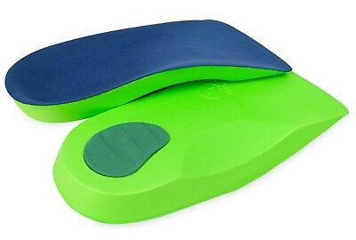 £3.95 • Buy 3/4 Orthotic Insoles For Arch Support Plantar Fasciitis Flat Feet Back Heel Pain