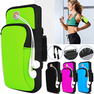 AU15.99 • Buy Outdoor Sports Running Jogging Arm Band Bag Phones Pouch Case For IPhone Samsung