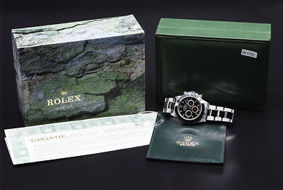 $ CDN129390.07 • Buy Rolex DAYTONA 16520 Black Steel Zenith Patrizzi Dial 40mm Automatic Watch