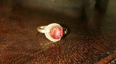 £490 • Buy Superb  Ancient Roman 1st 2nd Cent AD Solid Intaglio Ring.