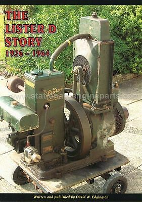 The Lister D Story, The History & Development Of The Lister D Engine Book • 14.99£