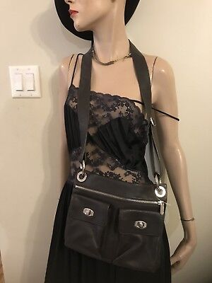 $ CDN79.99 • Buy Danier Bag Crossbody Leather Brown Handbag  With Dust Bag Nwot