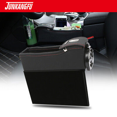 $29.99 • Buy Car Leather Seat Seam Storage Box Organizer Accessorie Collector Gap Filler Left