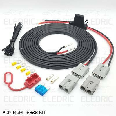 AU119 • Buy Anderson Plug Dual Battery Wiring Kit 12V DC For 4x4 4WD Ute Camper Plug & Play
