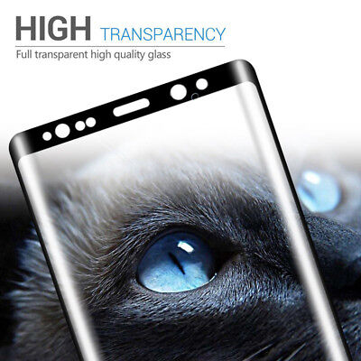 $ CDN6.57 • Buy Samsung Galaxy S9 Plus Screen Protector Tempered Glass Curved Case Friendly 5D