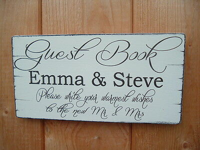 £5.99 • Buy Wedding Wishing Tree Guest Book Table Sign GOOD WISHES Free Standing Display