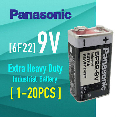 AU34.99 • Buy Panasonic 9V 6F22 Extra Heavy Duty Batteries Bulk Wholesale Lot EN22 Smoke Alarm