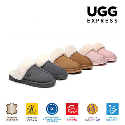 AU50 • Buy [EXTRA15%OFF]UGG Scuff Muffin Sheepskin Ugg Slippers Durable Thick Outsole