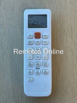 AU13.99 • Buy Universal SAMSUNG Air Conditioner Replacement Remote Control BRAND NEW