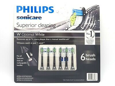 AU69.99 • Buy 6 Philips Genuine Sonicare Diamond Clean Toothbrush Replacement Head Oral Health