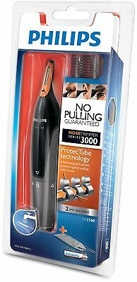 AU29.99 • Buy PHILIPS NT3160 Nose Ear Eyebrow Hair Trimmer Shaver Washable No Pulling No Cut