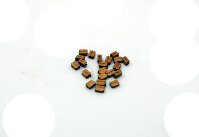 Single/Double Blocks For Rigging Choose Size Wooden Model Ship Fitting 20 Pcs/p • 4.70£