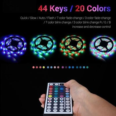 LED Home Theater Accent Lighting Kit Color Changing Behind TV Light Strip Glow • 11.59$