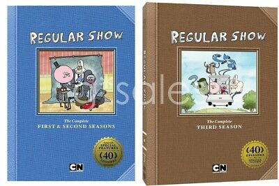The Regular Show TV Series Complete Seasons 1-3 (1 2 & 3) NEW DVD BUNDLE SET • 50.62£