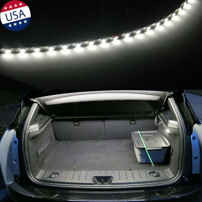 $8.98 • Buy 18-SMD HID Bright White Strip LED Light Car Trunk Cargo Illumination For Honda