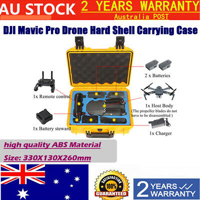AU47.99 • Buy Pro Hard Case Updated Carry Box For DJI Mavic Drone RC Drone ABS Material AU