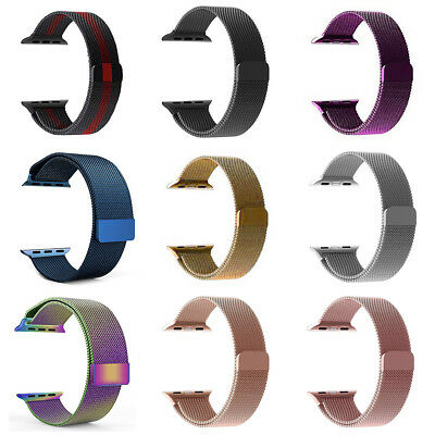$ CDN13.99 • Buy Milanese Stainless Steel Bracelet Band Apple Watch Series 1 2 3 4 38/40/42/44mm