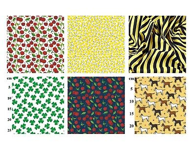 £3.99 • Buy Polycotton Dress Making Fabric X 110cm - Sewing Craft Home Accessory Fabric