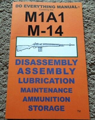 $9.95 • Buy M-14  .308 Winchester, 7.62x51mm Nato Rifle Manual 29 Pages