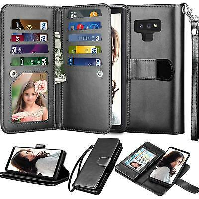 $ CDN12.58 • Buy For Samsung Galaxy Note 9/ 8/10 Plus/S7/S8/S9/S10 Plus Leather Wallet Case Cover