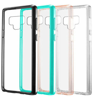 $ CDN10.52 • Buy For Samsung Galaxy Note 9 - Hard TPU Rubber Gummy Transparent Phone Case Cover