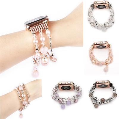 $ CDN16.21 • Buy Luxury Bling Crystal Watch Band Strap For Apple Watch IWatch Series 5/4/3/2/1