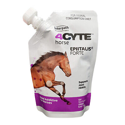 AU149.50 • Buy 4CYTE Equine Epiitalis Forte Joint Support Gel Supplement For Horses 236gm