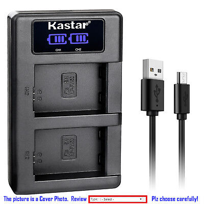 $ CDN39.01 • Buy Kastar LCD Dual Charger Battery For Sony NP-FW50 BC-VW1 & ILCE-6000 Alpha A6000