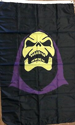 $18.95 • Buy Skeletor Flag 3x5 Laughing Vertical Banner He-Man & The Masters Of The Universe