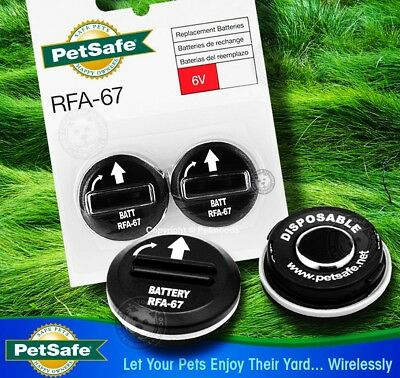 AU17.99 • Buy Petsafe 6volt Lithium Battery For Smart Door, Bark Collar Etc - RFA-67 2 PACK