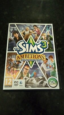The Sims 3: Ambitions (PC: Mac, 2010) Expansion Pack • 2.99£