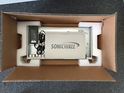 SonicWall NSA 250M Network Security Appliance APL25-090 W/ AC Adapter Rack Mount • 140$