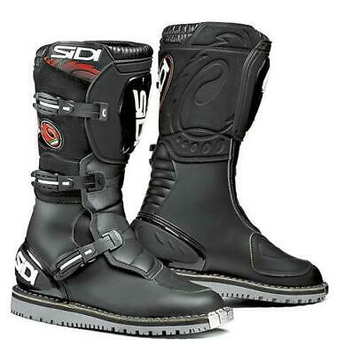 £249.99 • Buy Sidi Discovery Microfibre Motorcycle Motorbike Trails Boot Black CE Approved