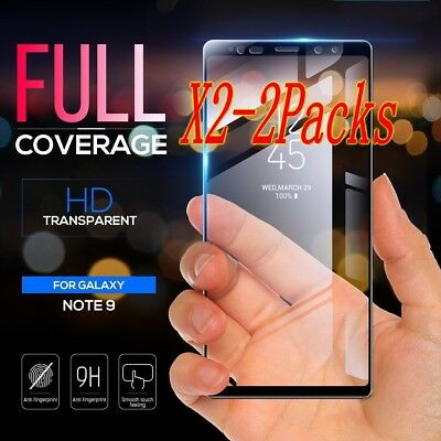 $ CDN3.21 • Buy 2X Samsung Galaxy Note 9 3D Tempered Glass Full Coverage Screen Protector