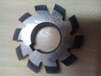 £10.65 • Buy Gear Cutter Involute Module M2,75 No5  20° HSS OLD STOCK NEW