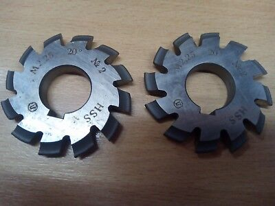 £10.65 • Buy Gear Cutter Involute Module M2,25 No2 -  20° HSS OLD STOCK NEW -