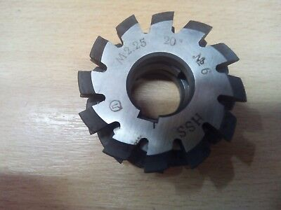 £10.65 • Buy Gear Cutter Involute Module M2,25 No6 -  20° HSS OLD STOCK NEW -