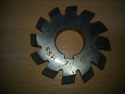 £10.65 • Buy Gear Cutter Involute Module M2,25 No7 -  20° HSS OLD STOCK NEW -