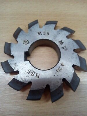 £10.65 • Buy Gear Cutter Involute Module M3,5 No2  20° HSS OLD STOCK NEW