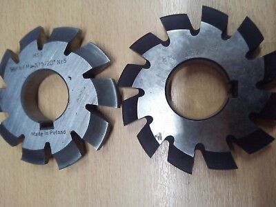 £10.65 • Buy Gear Cutter Involute Module M3,75 No5  20° HSS OLD STOCK NEW
