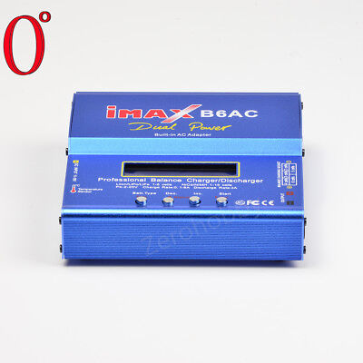 AU47.98 • Buy 80W IMAX B6AC RC Balance Battery Charger Nimh Nicd With Digital LCD Screen