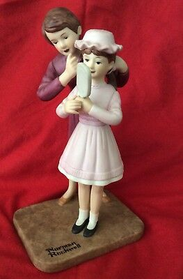 "$ CDN85.49 • Buy Norman Rockwell Porcelain Figurines  ""NEW HAT"""