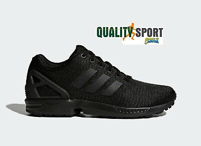 separation shoes 33930 54d78 Adidas ZX Flux Nero Monochrome Scarpe Shoes Uomo Sportive Sneakers S32279 •  74.99€