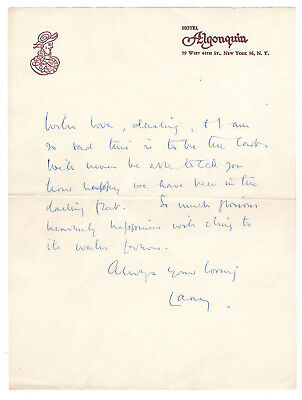 Sir Laurence Olivier Love Letter Signed Circa 1960 / Autographed • 208.50£