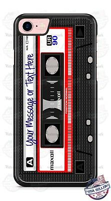 AU15.53 • Buy RELOOP TAPE RECORDER CASSETTE PHONE CASE COVER FOR IPHONE SAMSUNG Etc ANY TEXT
