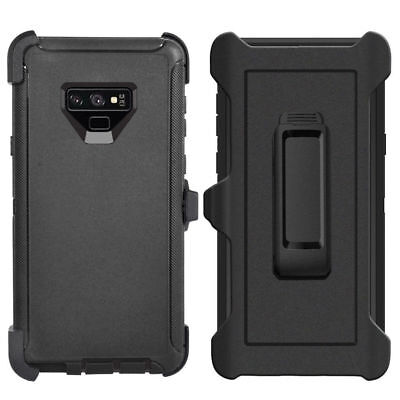 $ CDN12.12 • Buy For Samsung Galaxy Note 9 Case Cover (Belt Clip Fits Otterbox Defender) BLACK